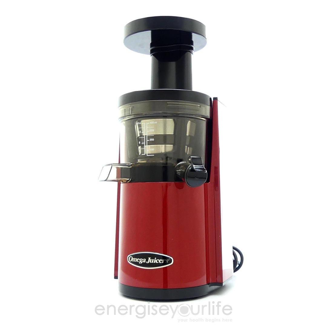 Omega VSJ843RR Slow Juicer in Red
